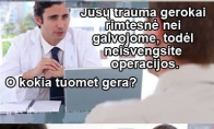 Pozityvi daktaro diagnozė