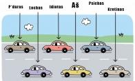 Kaip aš matau kitus vairuotojus
