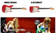 Gitaros formų paslaptis