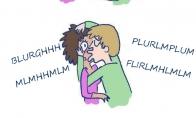 Kai baisiai nori pabučiuoti