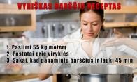 Vyriškas barčių receptas