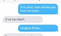 Lengvas flirtas pagal vyrus