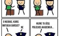 Pramogos policijos akademijoje