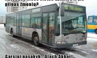 Kaip atlaisvint vietą autobuse