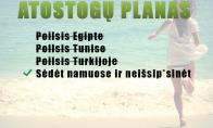Atostogų planas