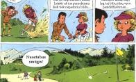 Nepadorus mokymasis žaisti golfą