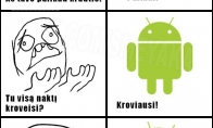 Android problemos