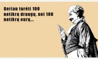 Netikri draugai vs eurai