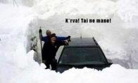 Sniego problema nr1.