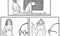 Merginos formos matematiko akimis