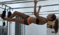 Sportiškų merginų GIF rinkinys