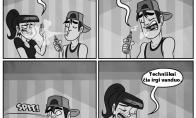 Kai turi draugą su elektronine cigarete