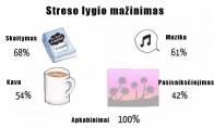 Kaip malšint stresą