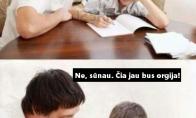 Matematika pagal tėtį