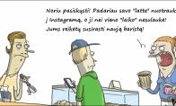 Kava ir Instagram'as