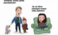 Laimingos šeimos pamokos