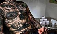Afigenų tatuiruočių rinkinys