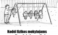 Fizikos mokytojų trūkumai