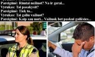 Kodėl automobilius dažniausiai stabdo policininkai vyrai?