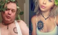 Tėtis pridarė gėdos kopijuodamas dukros nuotraukas