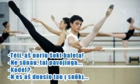 Kodėl berniukams baletas pavojingas?
