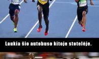 Kodėl verta greitai bėgioti