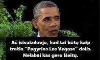 Aštrus Obamos atkirtis