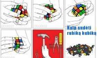 Rubikas kubikas vs mano nervai