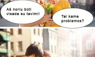 Dabartinių vyrų problemos