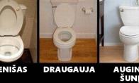 Kaip atrodo skirtingų žmonių tualetai