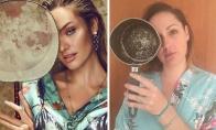Kai paprasta moteris bando atkartoti žvaigždžių nuotraukas
