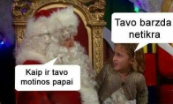 Piktas Kalėdų senelis