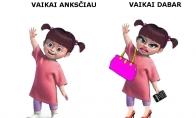Vaikų skirtumai