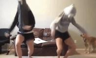 Geriausių šokėjų GIF rinkinys