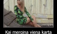 Mergina narkomanė