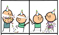 Smagus gimtadienis