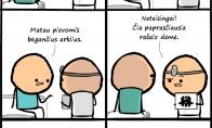 Kai pacientas yra debilas