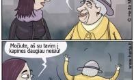Močiutė prikolistė