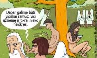 Šiuolaikinis Adomas ir Ieva
