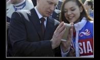 Slapukaujantis Putinas