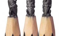 Meno kūriniai ant pieštuko galo [GALERIJA]