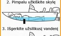Kaip greitai pataisyti kiaurą valtį