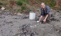 Kruopštus paplūdimio išvalymas