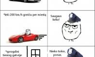 GTA policijos logika