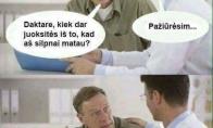 Išsikalinėjantis daktaras