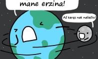 Žemės ir mėnulio santykiai
