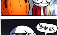 Baisiausias Helovyno kostiumas