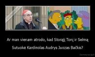 Lietuvos Kardinolas Simpsonuose?