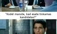 Programuotojas darbo pokalbyje