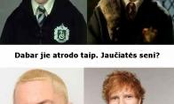 Aktoriai iš Hario Poterio